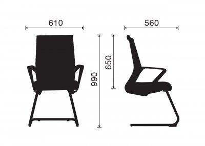 Ghế Phòng Họp Fly-D 03