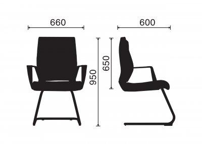 Ghế Phòng Họp Control-T04