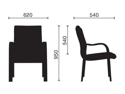 Ghế Phòng Họp M1062