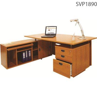 Bộ bàn trưởng phòng gỗ Melamine SVP1890