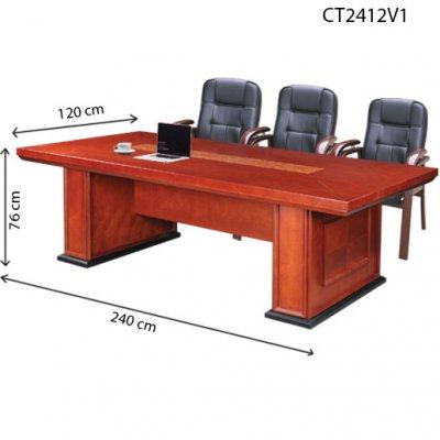 Bàn họp gỗ VERNEER CT2412V1